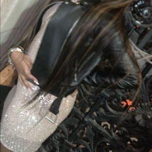 Fashion nova gold sequin long sleeve dress
